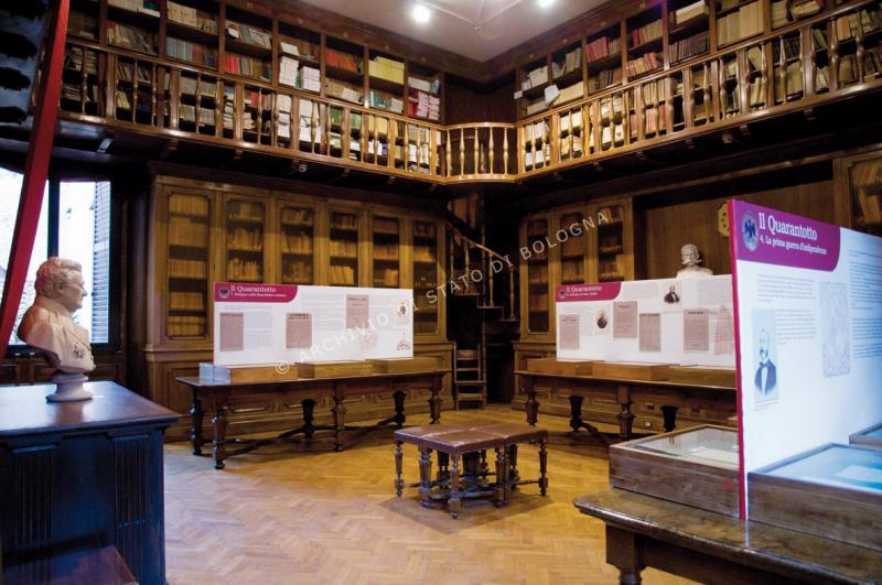 biblioteca archivio di stato bologna sandwich - photo#9