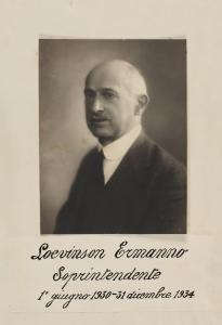Ritratto di Ermanno Loevinson
