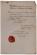 17. Copia autentica del decreto di nomina di Antonio Aldini a ministro segretario di Stato del Regno d'Italia residente a Parigi, Piacenza, 29 giugno 1805