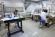 34. Laboratorio di restauro, legatoria e cartotecnica subito dopo l'apertura e oggi